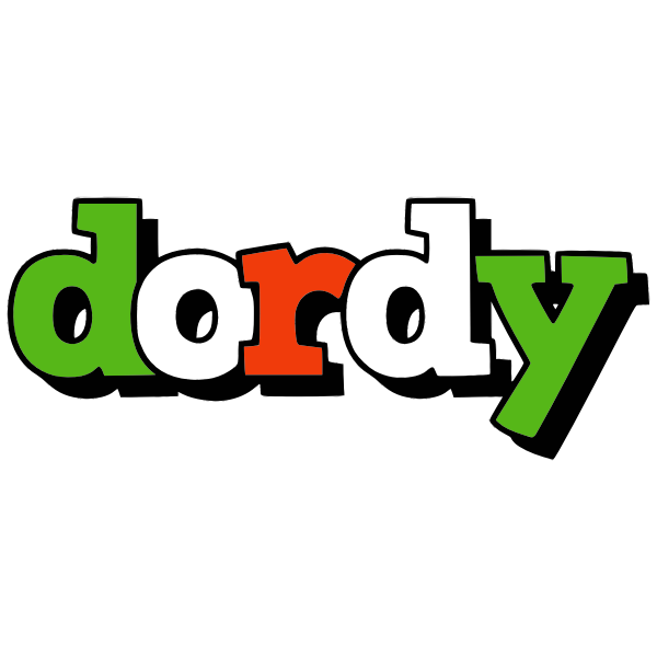 Dordy text graphic style