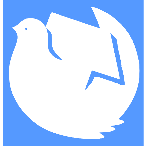 dove, hammer and sickle