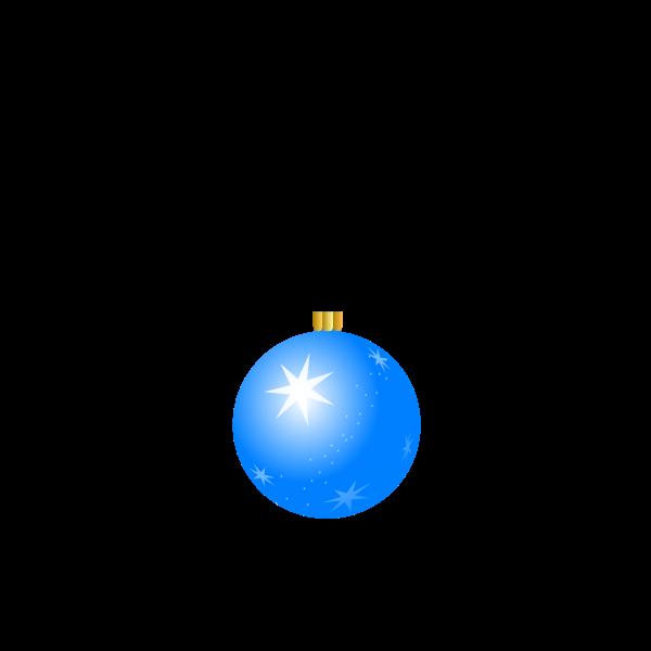 Christmas ball vector graphics