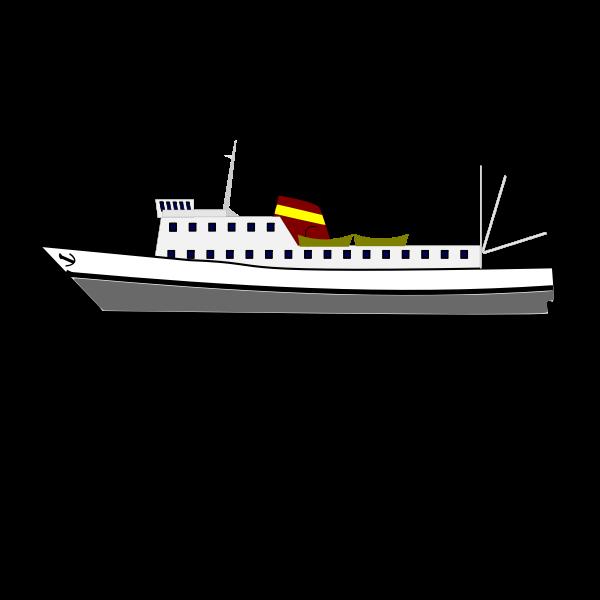 boat drawing 10