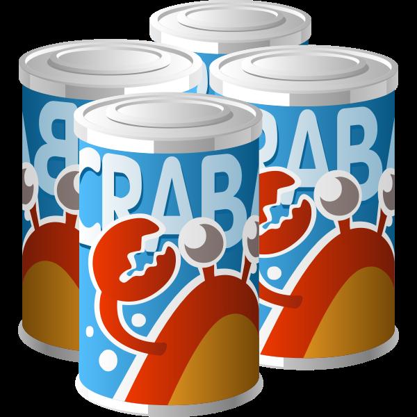 Crabato juice vector illustration