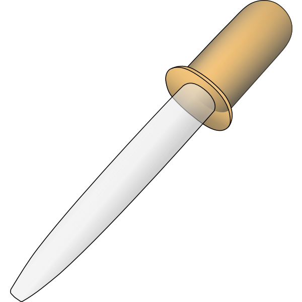 Dropper vector image