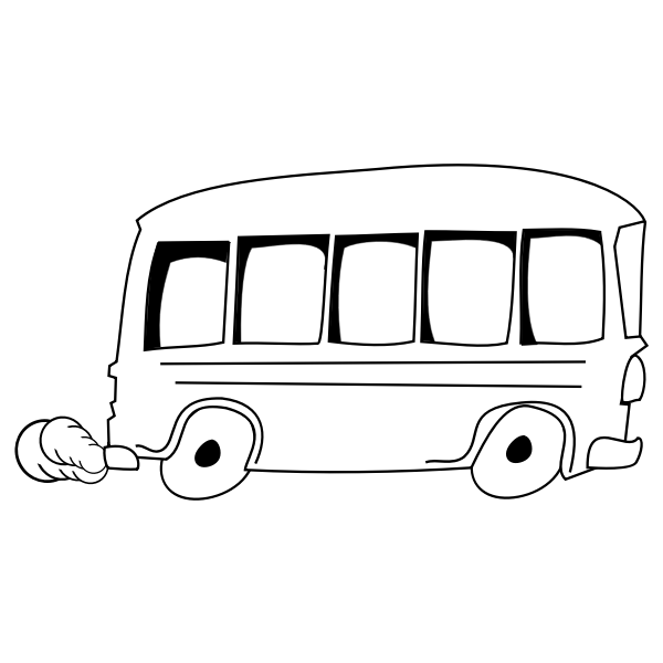 Bus vector graphics