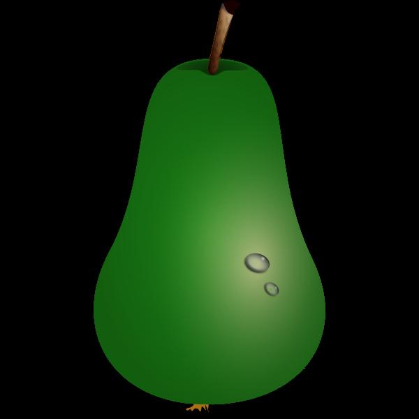 Vector illustration of pear