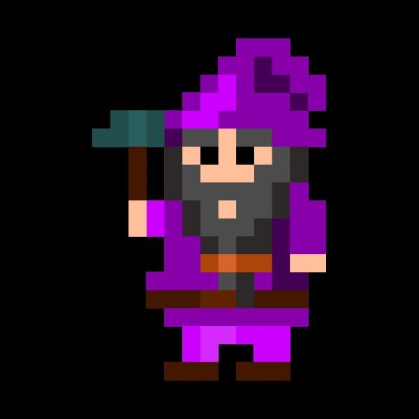 Pixel dwarf