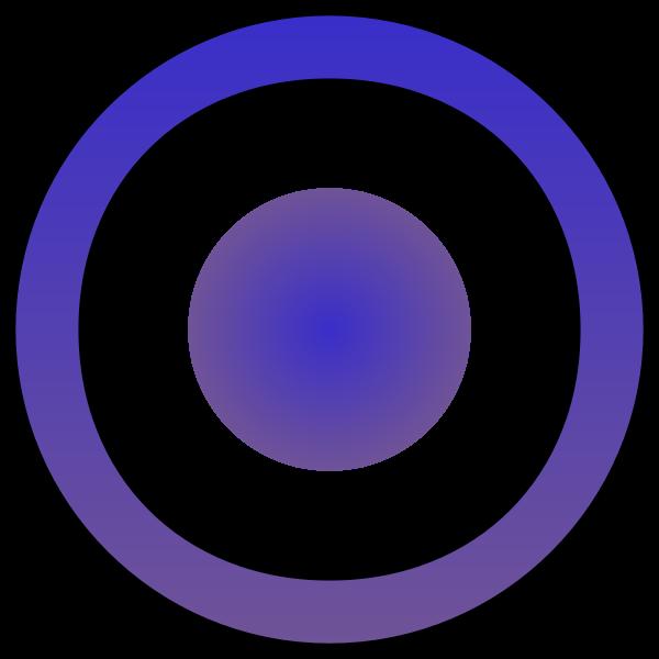 Purple target circles