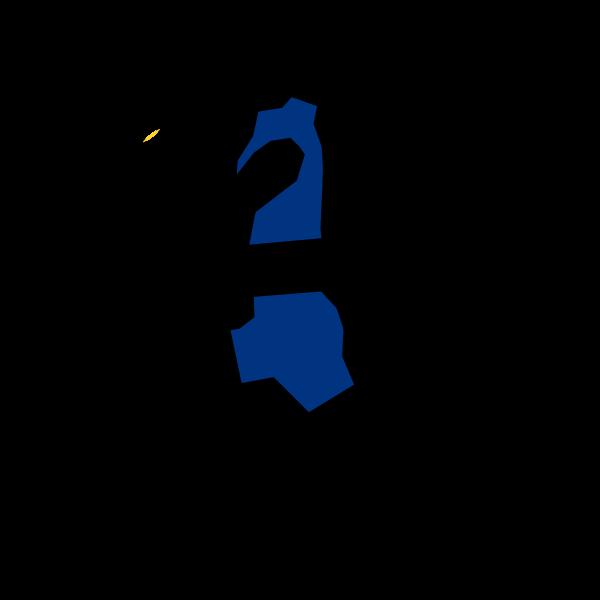 Vector illustration of woman jogging line art