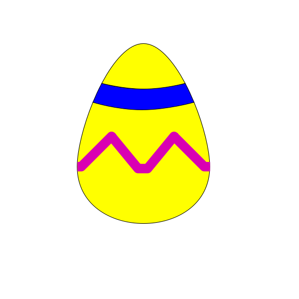 Vector clip art of Easter egg