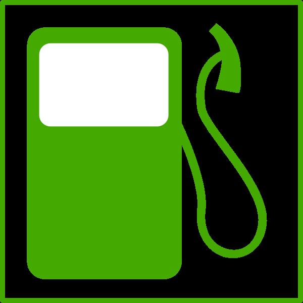 Eco fuel vector icon