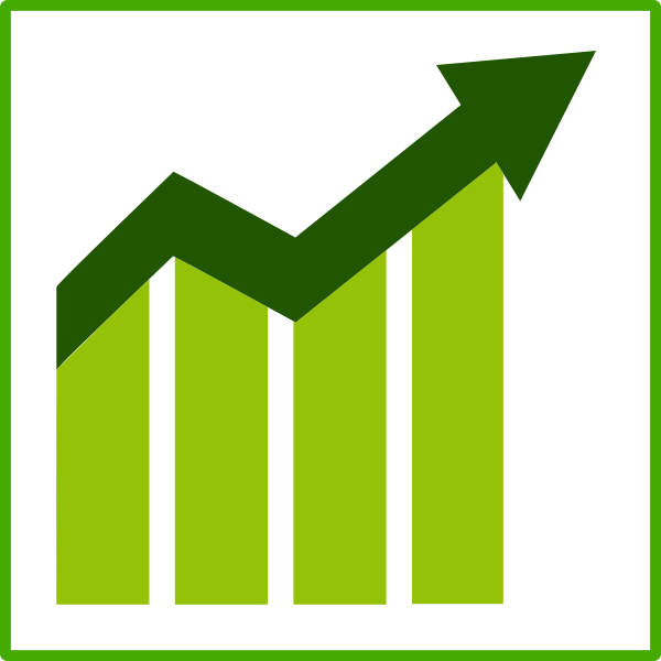 Eco growth vector icon