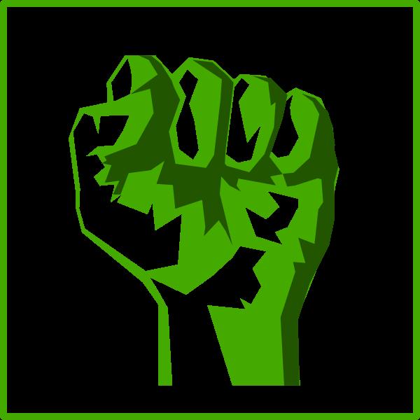 Eco power vector icon