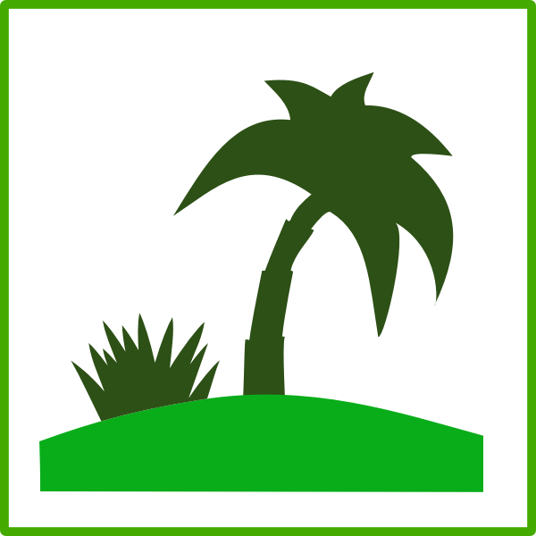 Eco tourism vector icon