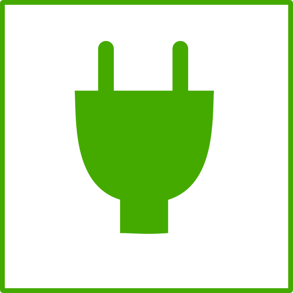 Eco energy vector icon