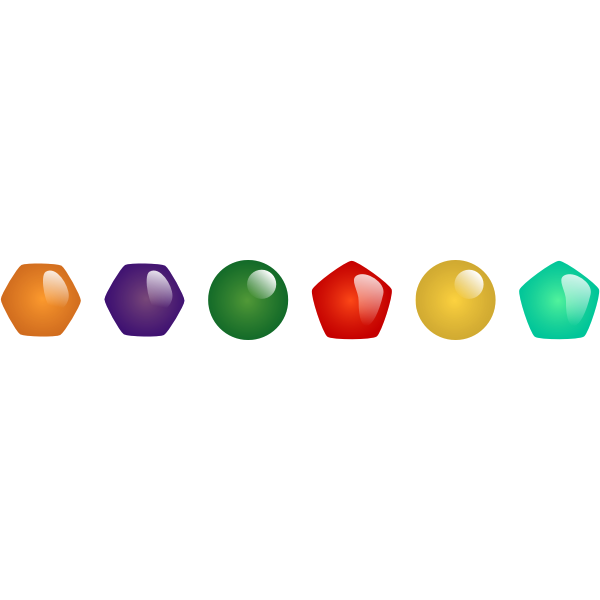 Gems vector graphics