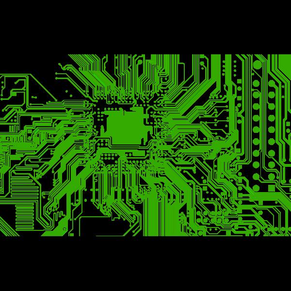 Electronic Circuit Vector Graphics