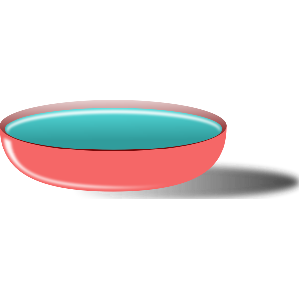 Bowl of soup vector graphics
