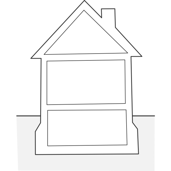 house elevation / élévation maison