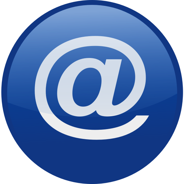 Email vector icon image