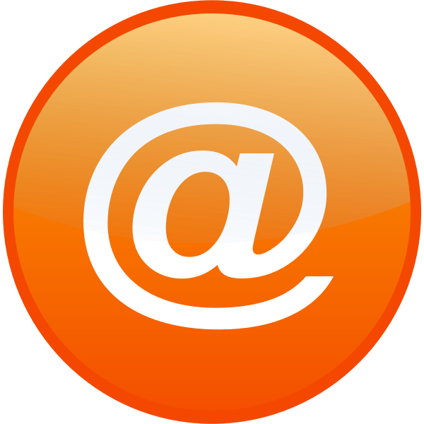 Email vector icon graphics