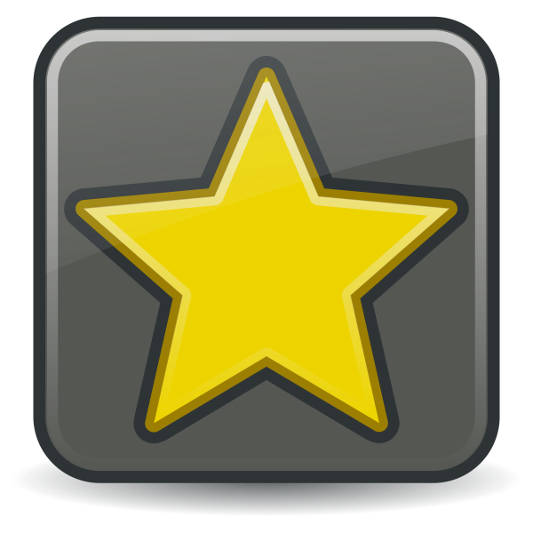 Favorites icon vector image