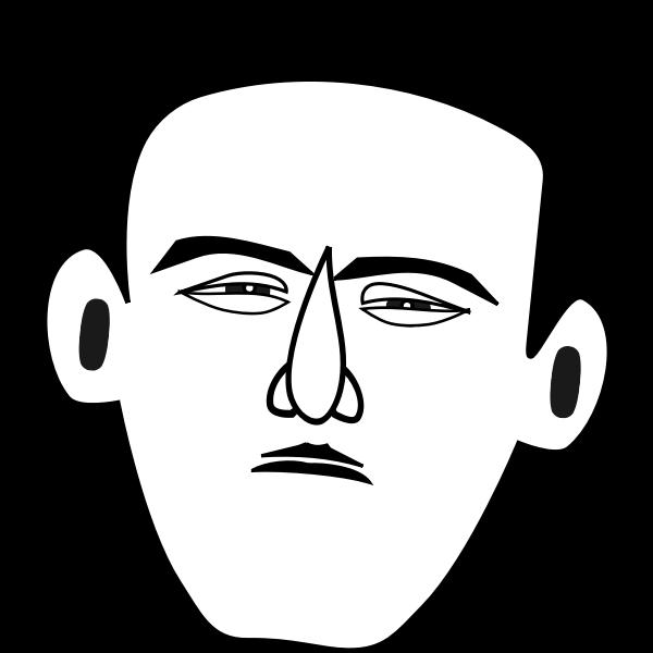Timorous man
