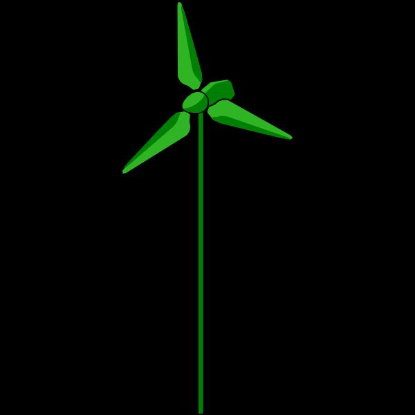 Wind Turbine Green