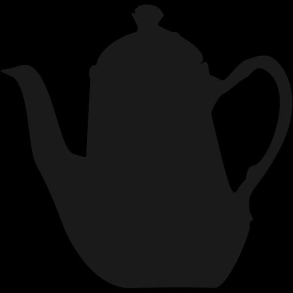 Tea pot vector drawing   Free SVG