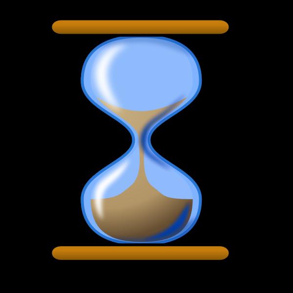 Hourglass vector clip art