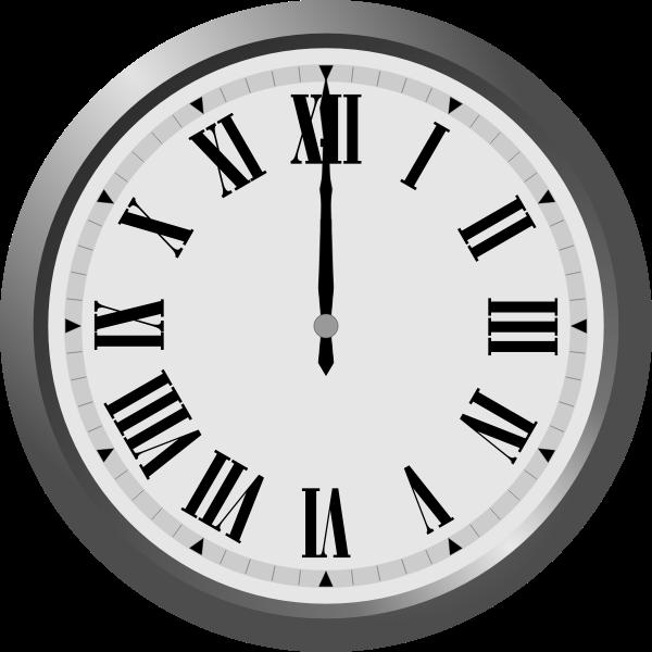 Clock vector graphics