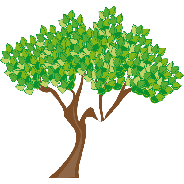 Tree vector graphics