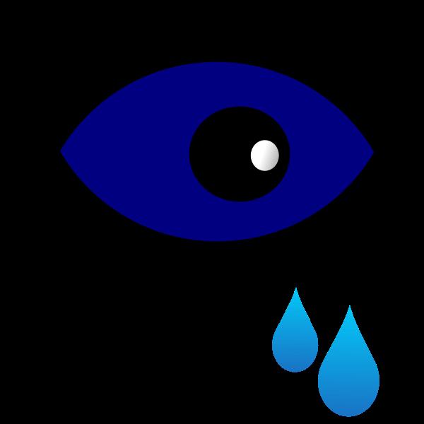 Eye drops sign vector illustration