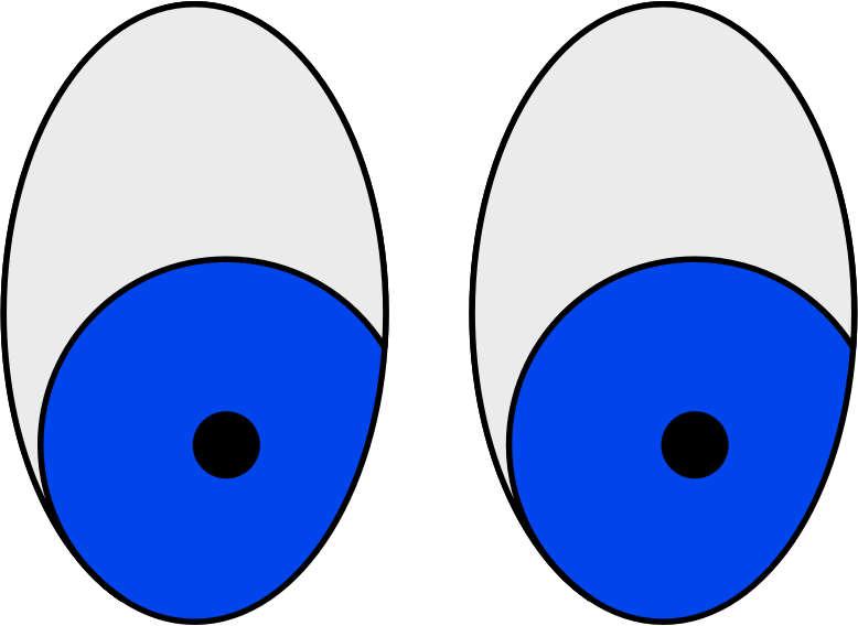 Human Eyes Sketch Vector Image Free Svg