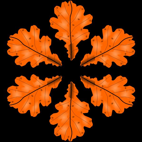 Fall leaf vector illustration