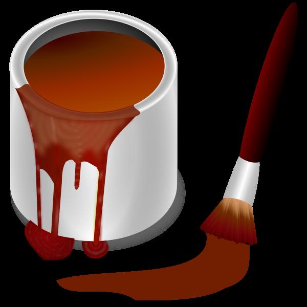 Bucket of brown