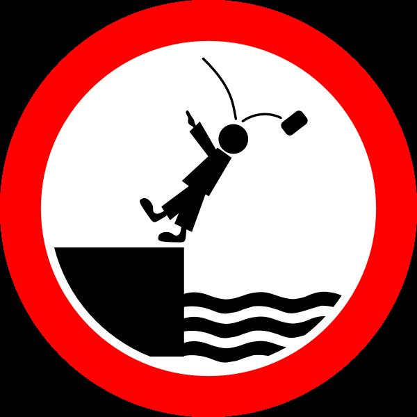 Funny antifascist road sign vector image
