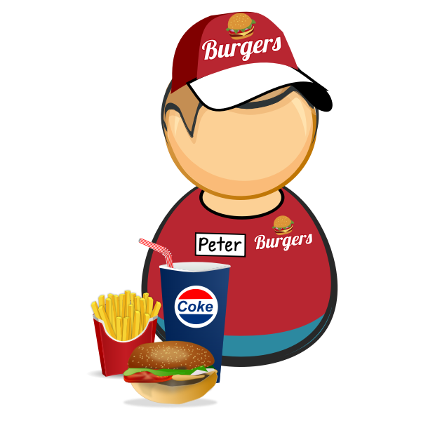 Fast food worker