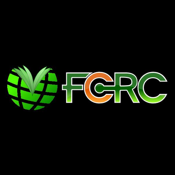 FCRC book logo vector drawing