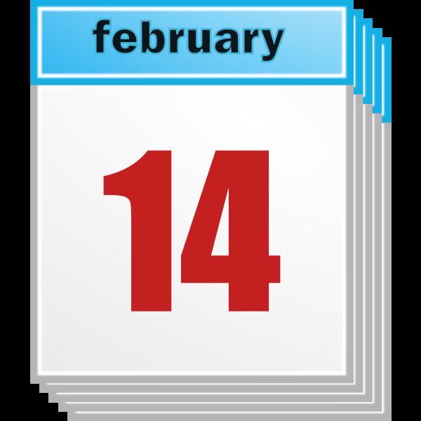 Calendar day 14th February