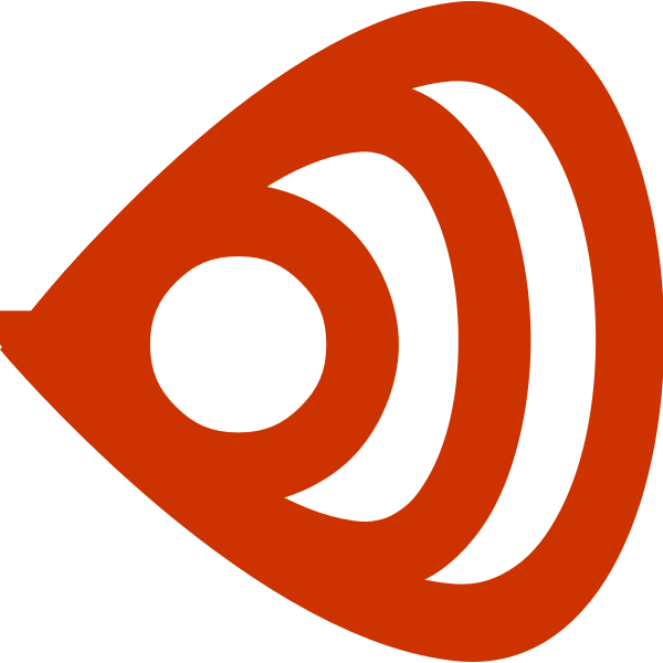 Vector illustration of modern newsfeed icon