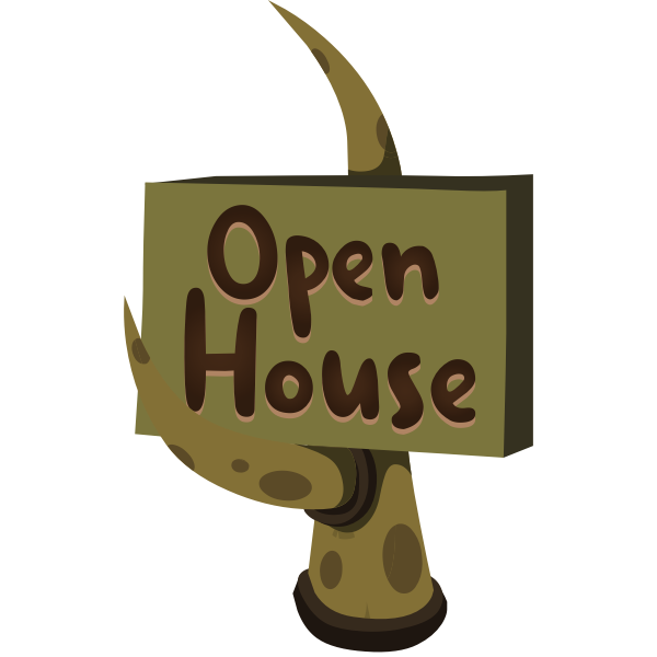 firebog open house sign