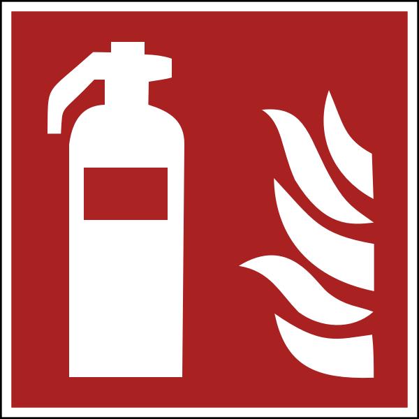 fireextinguisher ISO 7010 F001