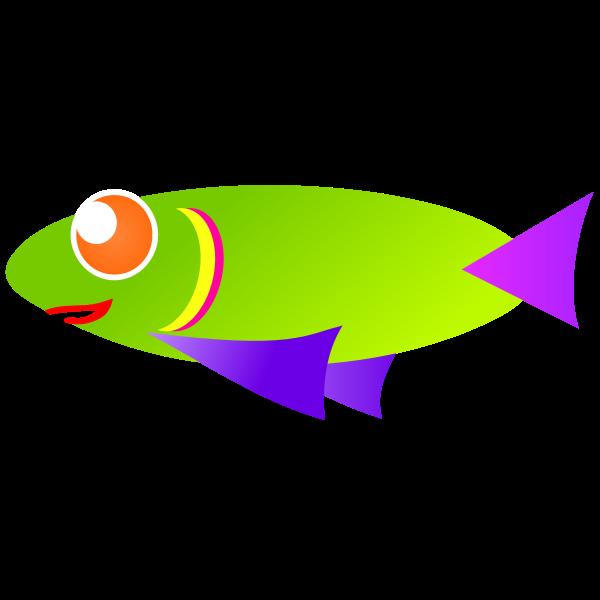 Caribbean fish vector image