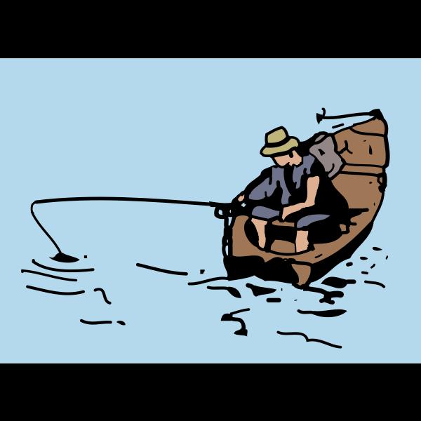Download Fishing Boat Free Svg