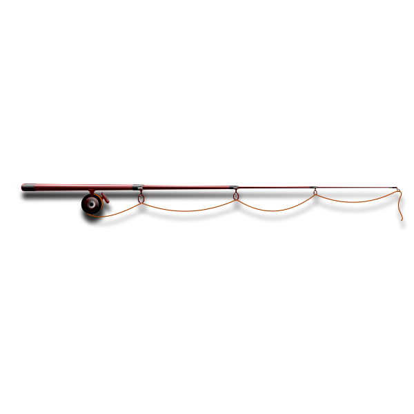 Download Fishing Rod Vector Image Free Svg