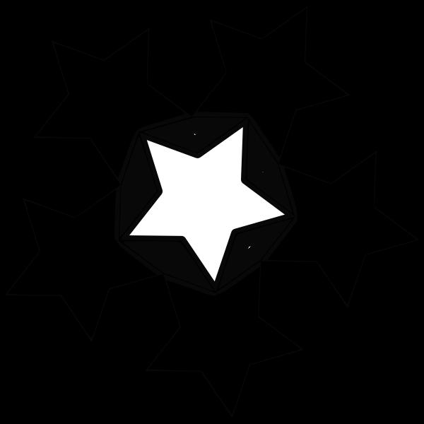 Five star shape