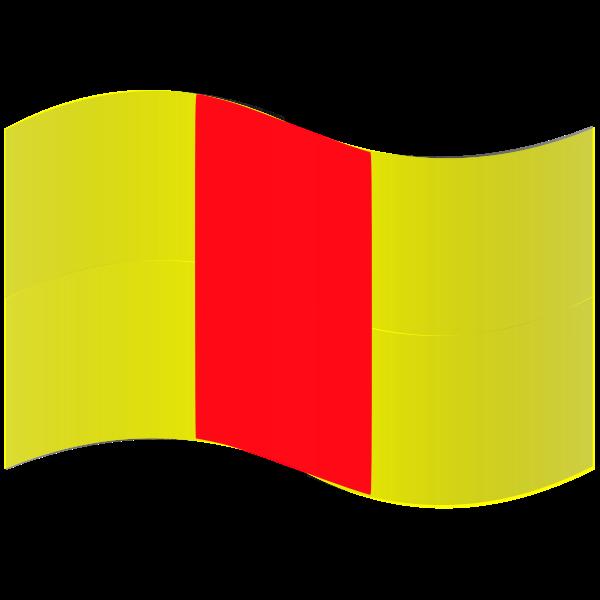 Pruszkow city flag
