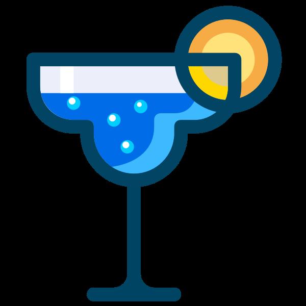 Shaken cocktail drink