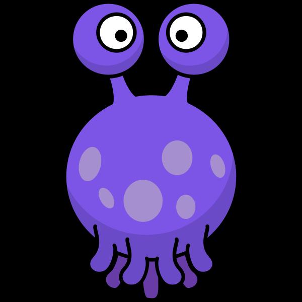 Floating squid