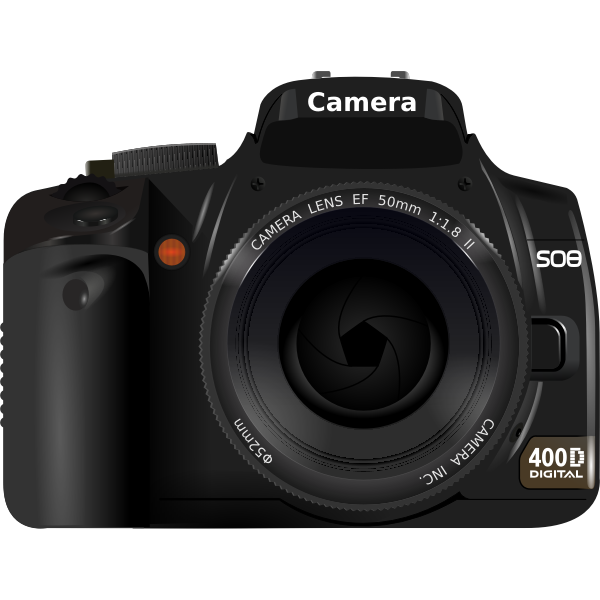 DSLR Camera camera vector illustration