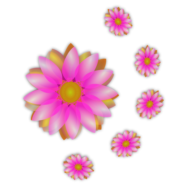 Flowers graphic vector